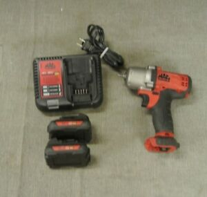 Mac Tools Bwp025 12v 1 4 Impact Wrench W Batterys Charger 96626 2 H