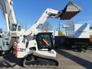 2012 Bobcat T 770 Turbo Wide Track Air Conditioned Keyless Security Stereo