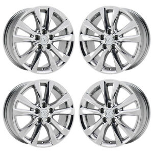 17 Lexus Es350 Pvd Chrome Wheels Rims Factory Oem Set 4 74224 Exchange