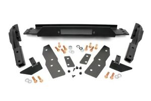 Rough Country Steel Winch Mounting Plate For 99 04 Jeep Grand Cherokee Wj