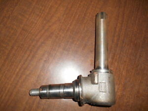 New Low Clearance Spindle For David Brown Caseih Tractors Part K262207
