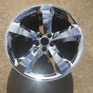 20 Inch Dodge Challenger Charger Chrome Wheel Factory Rim 2411 2424 Bent bend
