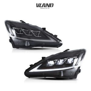 Led Headlights For 2006 2012 Lexus Is 250 350 Isf Led Projector Headlights