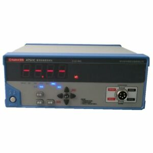 New Dc Low Resistance Tester At 511c At511c Micro ohm Meter