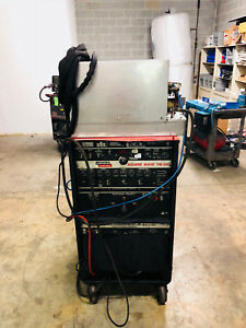 Lincoln Square Wave 355 Ac dc Tig Welder Water Cooled