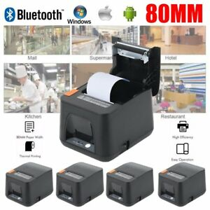 5pcs Esc pos Usb Dot Receipt Thermal Printer 80mm 300mm s Auto Cutter Android