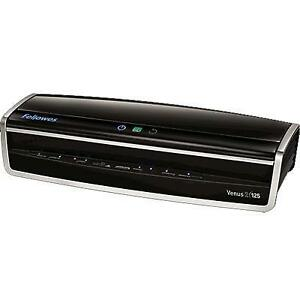 Fellowes Laminator Venus 2 125 Rapid 30 60 Second Warm up Laminating Machine