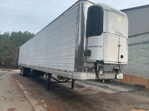 2008 Wabash 53 Ft Reefer Refrigerated Unit Trailer Only 12600 Hours New Tires