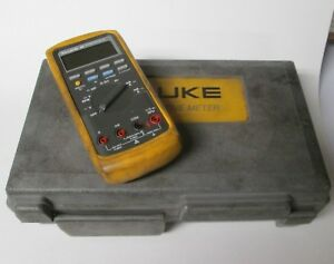 Fluke 88 Automotive Meter With Storage Case And Probes