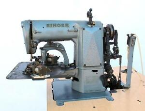 Singer St 94a Camatron 6 Long Bar Tacker Industrial Sewing Machine Head Only