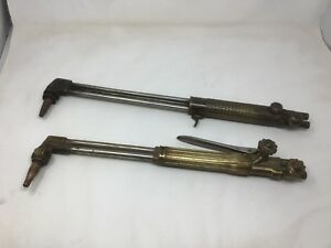 Victor St1600c Cutting Torch Airco 3086 Vintage Untested Pair Free Shipping