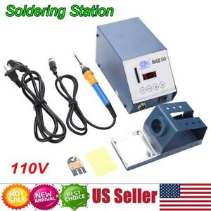 942 Smd Thermostatic Soldering Iron Rework Station Desoldering Repair 110v Us