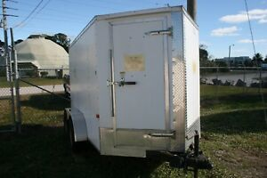 Cargo Craft 2011 6 x12 V nose Trailer With Duel Wheel One Owner