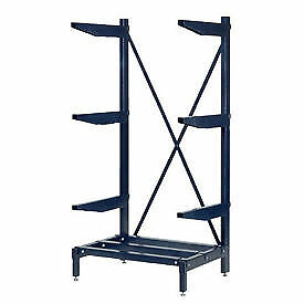 Cantilever Rack Shelving 800 Lbs Capacity 36 w X 24 d X 72 h Lot Of 1