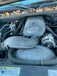 Chevy Gmc 5 3l Lm7 Drop Swap Out Ls Complete Engine Vin T 92k Miles Tested