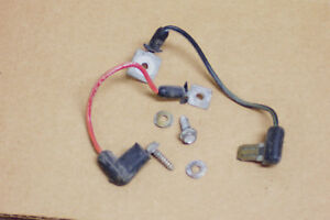 1968 Other Mercury Cyclone Instrument Constant Voltage Regulator Wiring