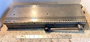 6 X 18 Magnetic Chuck Axm5268d Excellent Pull Power Machinist Free Ship Walker