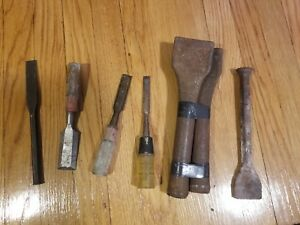 Auto Body Spoon Dollie Forming Bar Tool Dent Dolly Sheet Metal Chisel Vtge Lot