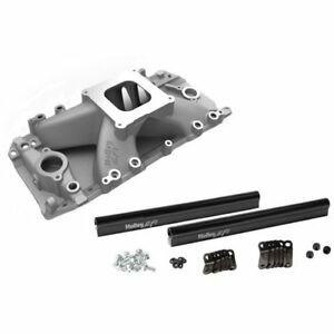 Holley 300 563 Efi Track Warrior Intake Manifold Big Block Chevy 396 502 With Re