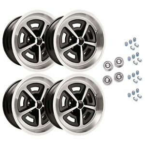 Year One Wheels Mmws1 Cast Aluminum Mopar Magnum Staggered Wheel Kit 2 17 X 8