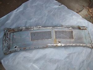 Cowl Grille Panel Cover Upper Top Mustang 67 68 Ford Oem