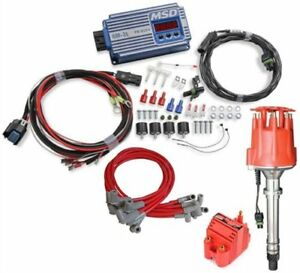 Msd Ignition 6564k1 6m 3l Marine Ignition Control Kit Big Block Chevy Blue Inclu