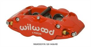 Wilwood 120 14437 Rd Fnsl6r 6 Piston Brake Caliper W Dust Seal Radial Mount 1 6