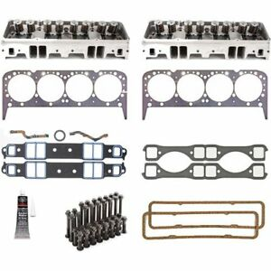 Promaxx Performance 2117k 225cc Aluminum Cylinder Head Kit Small Block Chevy 225