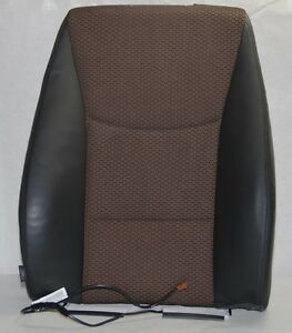 Bmw 3er E90 E91 Lci Seat Cover Backrest Rest Fabric Leather Brown 7212164