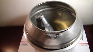 Hobart A 200 Mixer Stainless Steel Mixing Bowl W paddle Beater Splash Cover