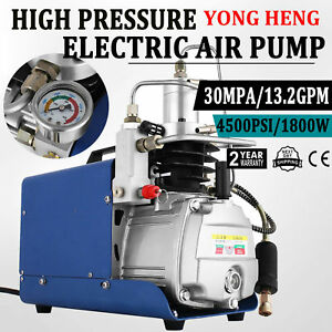 2200w 30mpa 4500psi 2 5hp Air Compressor Pump Pcp Electric High Pressure