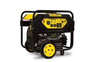 Champion Power Equipment 100111 12000 Watt Portable Generator With Electric S