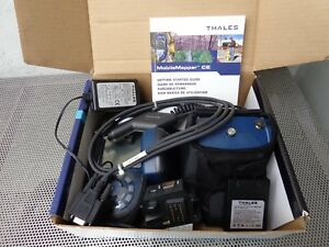 Complete Thales Mobiemapper Ce Handheld Gps W Beacon Battery Charger I o Module
