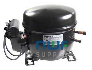 Embraco Egy90hlp Replacement Refrigeration Compressor R 134a 1 3 Hp