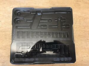New Snap On Tools 3 8 Metric 29pc General Service Socket Tray Only 229afsm