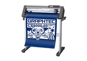 Graphtec Ce6000 60 Plus Vinyl Cutter Best Price You Can Find free Shipping