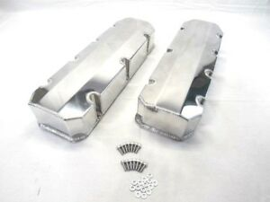 Bbc 454 Fabricated Tall Alum Valve Cover Short Bolt Polished Bpe 2315p