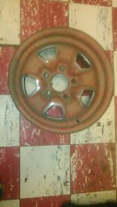 1968 69 70 71 72 Oldsmobile Cutlass 442 W 30 14 X 7 Ss Ii Rally Wheel