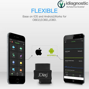 Faslink M2 Bluetooth Professional Obdii Bt Obd2 Scan Tool For Android Ios Iphone