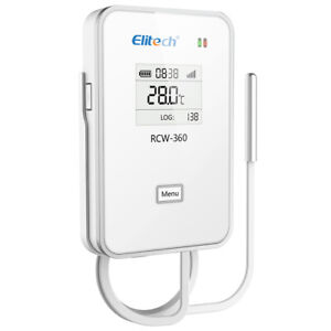 Elitech Rcw 360 Wifi Data Logger Temperature Record App Platform Remote Control