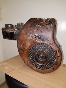 Antique Vintage Pincor Engine Rare Model As Has Suction Carburetor Briggs