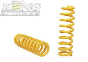 King Springs Coil Springs Lowered Front For Ford Focus 09 11 Tdci lv Sed Ds