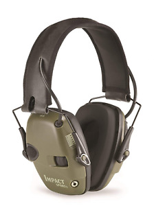 Howard Leight Electronic Shooting Earmuff Impact Sound Amplification Mic Green