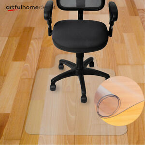 New 10 Types Chair Floor Mat Carpet Protector Rug Pvc Hard Plastic Home Office