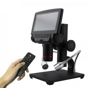 Usb Digital Industrial Microscope 5 Inch Hd Display Soldering Tool Phone Repair