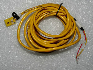 Omega Type Pltc Thermocouple Extension Wire 9ft With Type K Female Connector