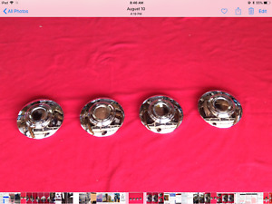 1940s 1950s Cadillac Hubcaps Re chromed Platings Large And Small