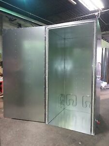 New Powder Coating Oven Batch Oven Industrial Oven 4x4x8 With Circulation Fan