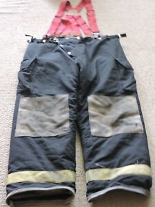 1998 Chieftain Firefighter Bunker Turnout Pants Size Xlarge Thermal Liner Gear