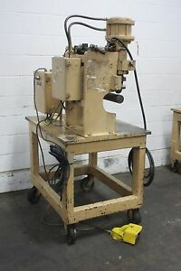 Cadillac Air Actuated Marking Engraving Machine Used Am15603